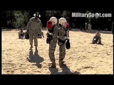 Basic Training - Fort Jackson Pugil Stick Training