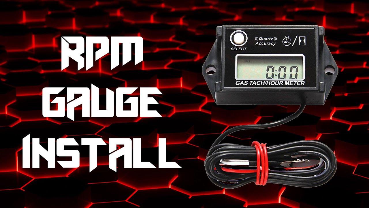 go kart rpm gauge install [ 1280 x 720 Pixel ]