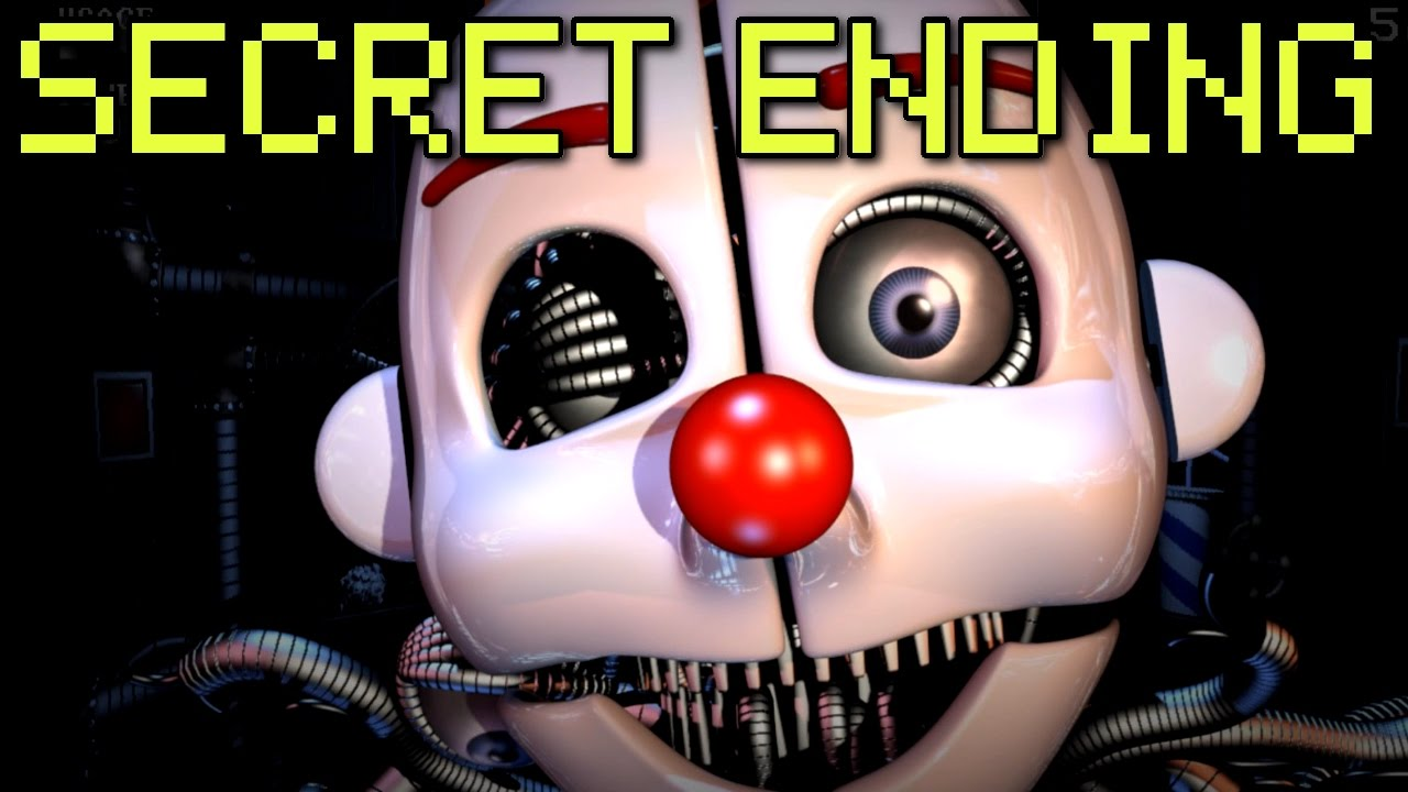 Download Five Nights at Freddy's: Sister Location - ALL ENDINGS + SECRET ANIMATRONIC