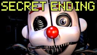 Repeat youtube video Five Nights at Freddy's: Sister Location - ALL ENDINGS + SECRET ANIMATRONIC