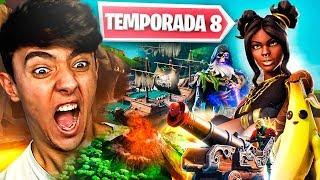 ¡REACCIONANDO A LA *TEMPORADA 8* Y SUBIENDO EL PASE A NIVEL 100! - Agustin51