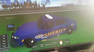 ROBLOX COUNTY PART ONE SHERIFF ABTEILUNG