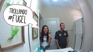 UM DIA INTEIRO TROLLANDO #FUGEL!!!!