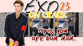 EXO on crack{23} | Kris you're bad dad.