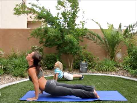 yoga at home for beginners  sun salutation b  youtube