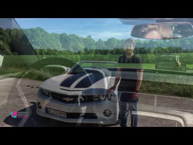 EUROPA SERVICE Autovermietung - Spritztour mit dem Camaro