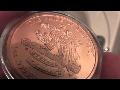 Don't Tread On Me One Ounce .999 Fine Copper Round Review