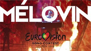 MELOVIN EuroVision 2018 ФИНАЛ Меловинята победили Евровидение 2018 МЕЛОВИН Under The Ladder
