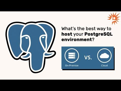 Free Webinar: Determining the Best Way to Host Your PostgreSQL Environment