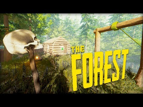 ONLY THE SKULL CAN PROTECT ME! PLANE CRASH SURVIVAL?! #5 (The Forest)
