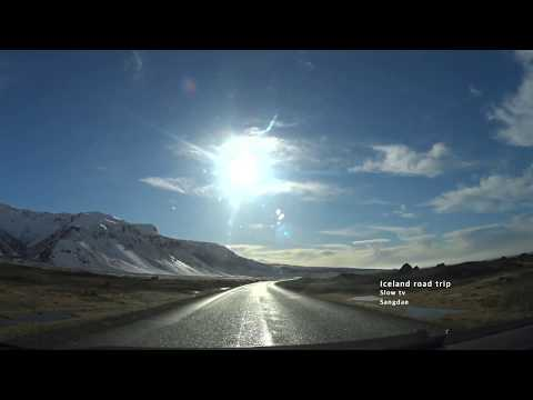 Iceland Road trip (Part1) Slow tv