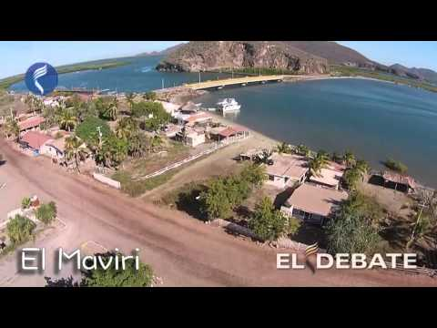 Playa El Maviri, Ahome, Sinaloa