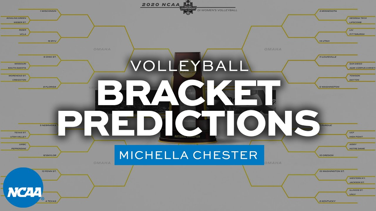 The 2020-21 NCAA volleyball bracket, predicted