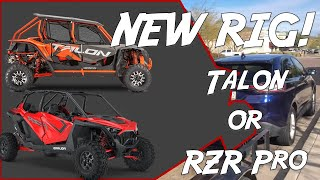 I have been looking at replacing my 2016 RZR with a new machine for a few months now. Well, I finally pulled the trigger and it came down to the RZR Pro XP or ...