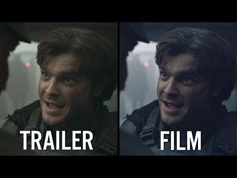 SOLO | Trailer vs Film [VFX & Colour Grade]