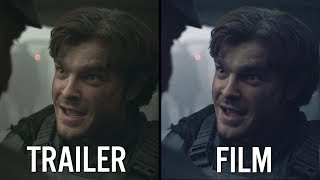 SOLO | Trailer vs Film [VFX & Colour Grade]