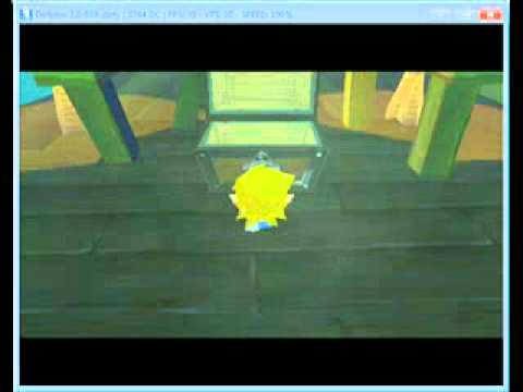 Legend of Zelda: Wind Waker Ghost Ship Chart Clip
