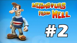 Neighbours From Hell - PC Walkthrough Gameplay Part 2 (în română)
