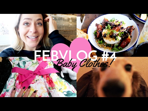 Shopping For Baby Clothes! FebVlog 4