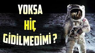 Ay'a Gerçekten Gidildi mi? ve Ay da Bulunan Ya
