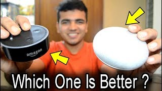 [HINDI] Google Home Mini Vs Amzaon Echo Dot | Which One To Buy in 2019 for RS.4099 or $50 ?
