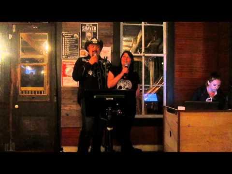 Rhonda does karaoke
