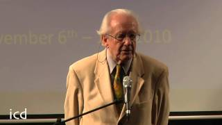 A Lecture by Dr. Johan Galtung (A Principal Founder of the Discipline of Peace and Conflict Studies)