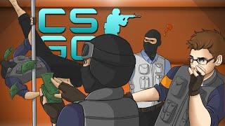 FIRING SQUAD, ANGRY MOM & KAWAII GIRLS! - CSGO Strat Roulette! (CS:GO Funny Moments)