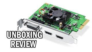BlackMagic Intensity Pro 4K - Unboxing, Setup & Review (0/10 DO NOT BUY!)