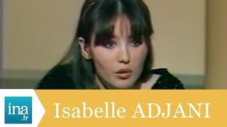 "Isabelle Adjani ""Je ne suis pas malade"" - Archive INA"