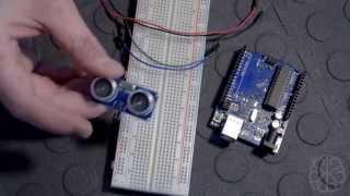 Using the HC-SR04 Ultrasonic Range Sensor with an Arduino - Tutorial