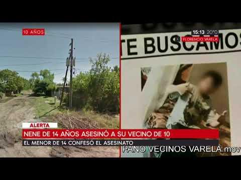 Un nene de 14 años asesinó a su vecino de 10 en Florencio Varela
