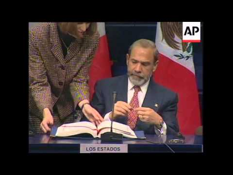BELGIUM: EU: MEXICO SIGNS NEW TRADE PARTNERSHIP WITH EU UPDATE