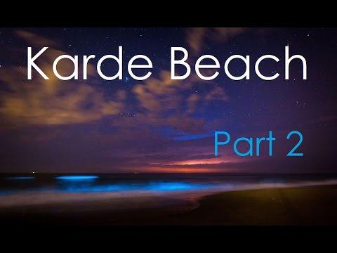 Karde beach - Harne Dock - Glowing blue waves