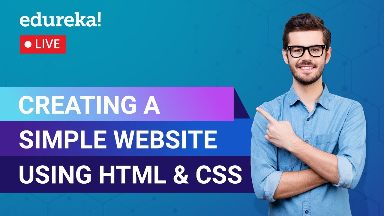 Creating a website using HTML & CSS | HTML & CSS | Full Stack Training