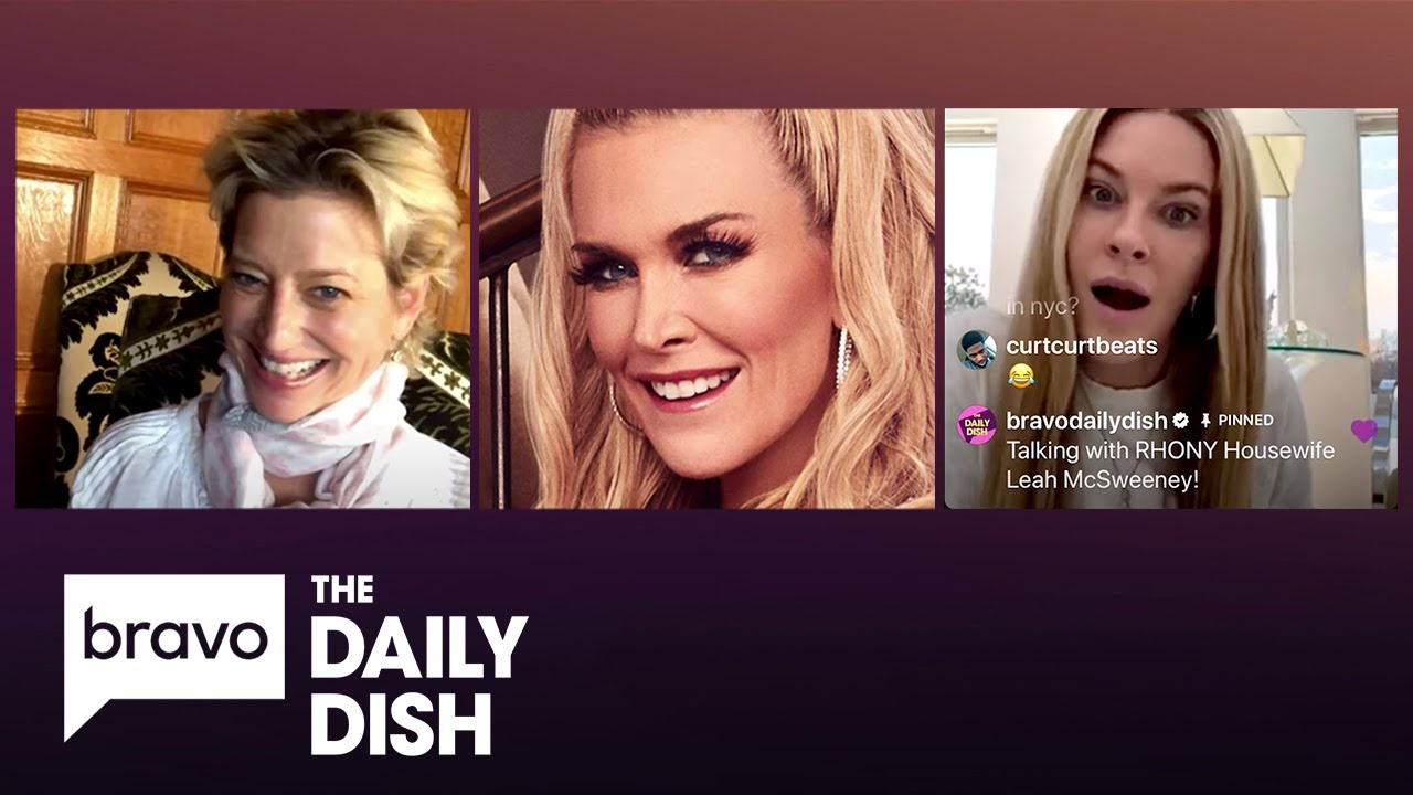The Real Housewives of New York City On IG Live   Daily Dish Podcast