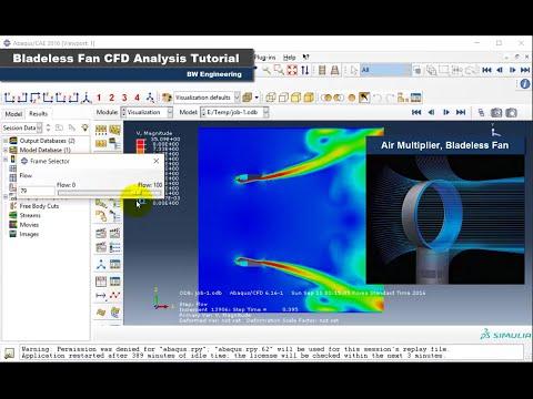 16-15 ABAQUS Tutorial | Bladeless Fan | CFD analysis | 6.13: 16-15 ABAQUS Tutorial | Bladeless Fan | CFD analysis | 6.13 https://sites.google.com/site/bwengineeringac/