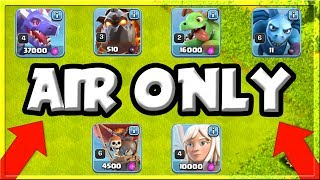 ALL AIR ONLY - HARDEST CHALLENGE EVER? - SHOCKING RESULTS IN Clash of Clans