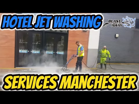 Hotel Perimeter Jet Washing Services Manchester