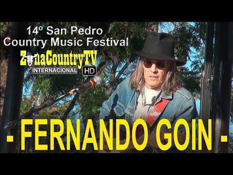 Fernando Goin en San Pedro Country Music Festival 2017