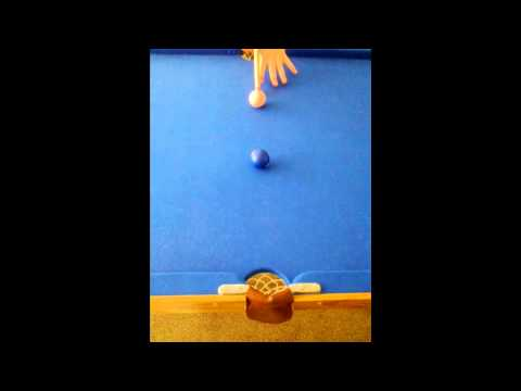 My Pool Trick shot ( Chip )