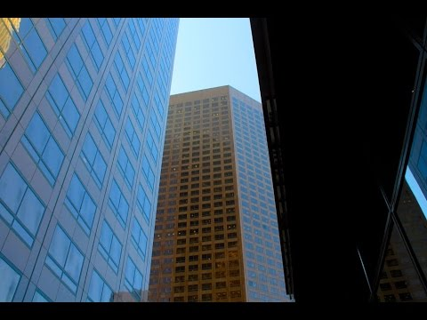 A Walk Around The Financial District, Downtown Los Angeles,
