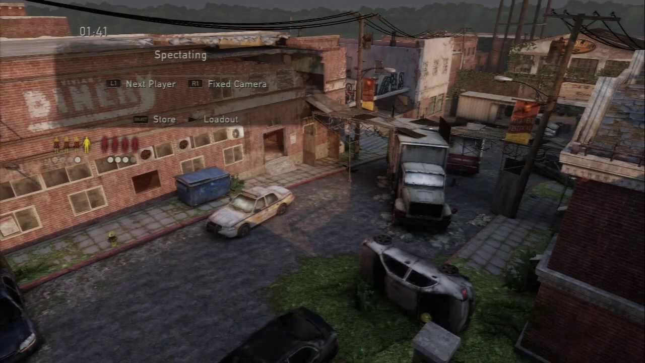 The Last Of Us Multiplayer Survivors On Bills Town Map - The last of us multiplayer maps