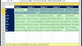 Excel Magic Trick 488: VLOOKUP with 2 Lookup Values Return Table of Values & Track Down Errors