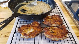 Breaded Pork Chops  (Quick Version - Recipe Only) The Hillbilly Kitchen