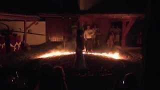 Танцы на углях в Болгарии