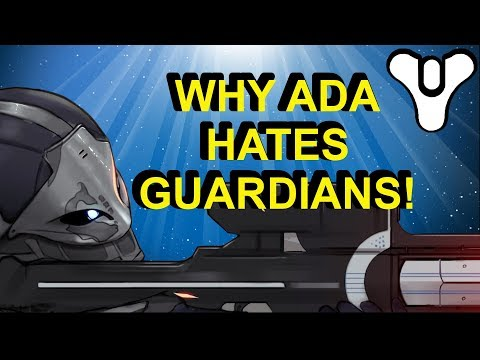 Why Ada Hates Guardians! Destiny 2 Lore   Myelin Games
