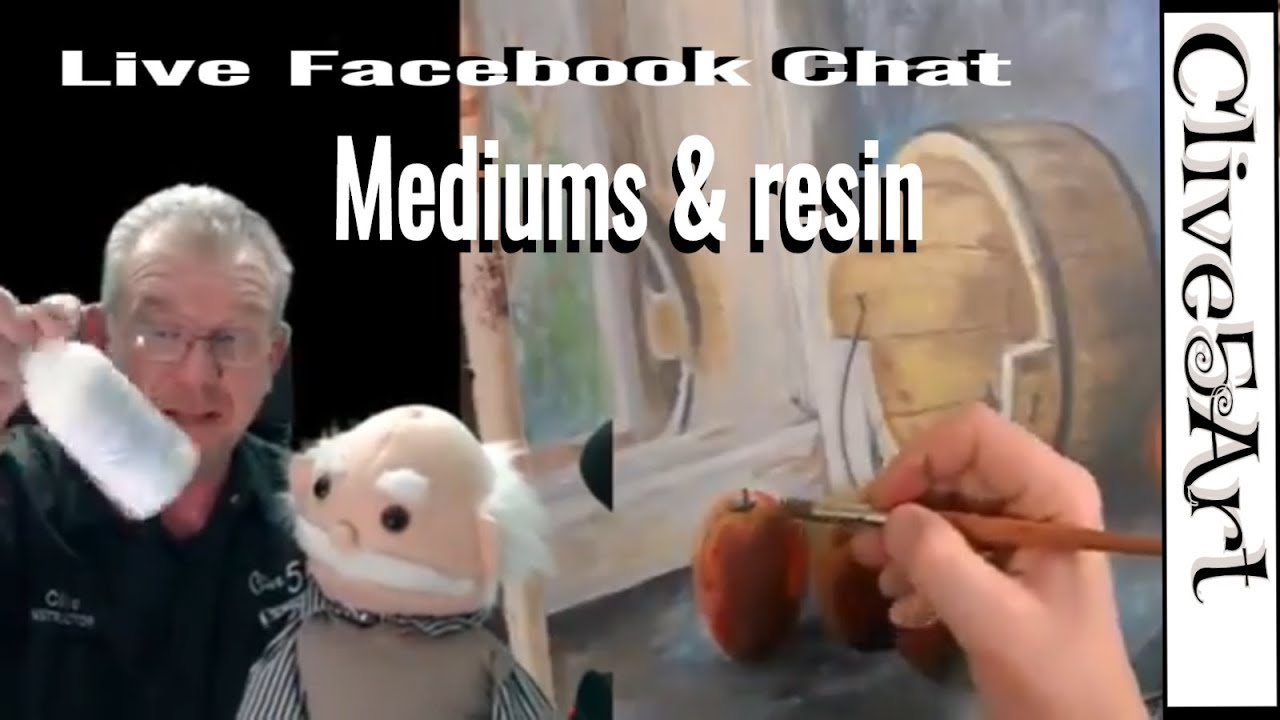 Mediums chat Clive5art Live on facebook