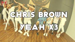 Chris Brown - Yeah x3 | Toddler  Basic Dance Choreography