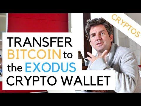 Transfer Bitcoin to Exodus Crypto Wallet from Coinbase
